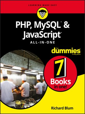 cover image of PHP, MySQL, & JavaScript All-in-One For Dummies