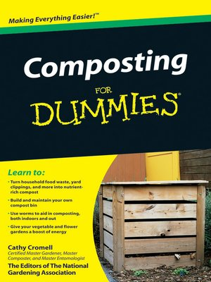 cover image of Composting For Dummies
