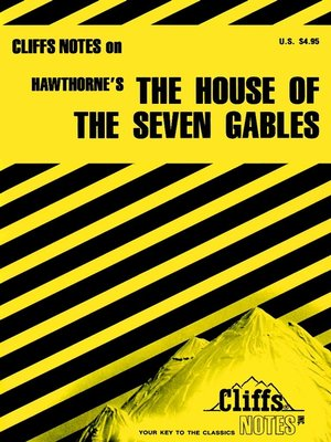 cover image of CliffsNotes on Hawthorne's The House of the Seven Gables