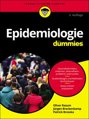 cover image of Epidemiologie für Dummies