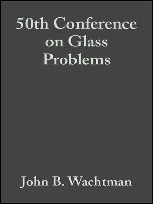 cover image of 50th Conference on Glass Problems