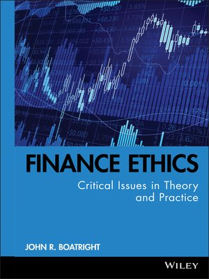 cover image of Finance Ethics