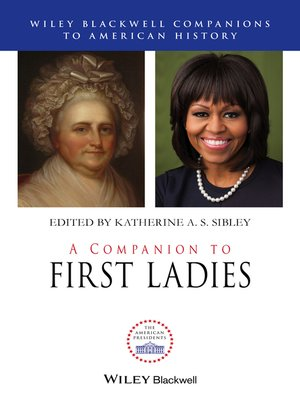 cover image of A Companion to First Ladies