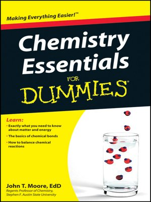 cover image of Chemistry Essentials For Dummies