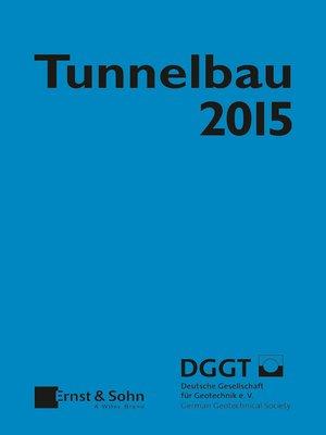 cover image of Taschenbuch für den Tunnelbau 2015