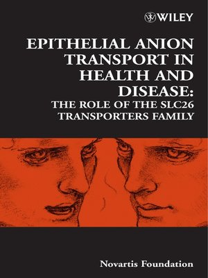 cover image of Epithelial Anion Transport in Health and Disease