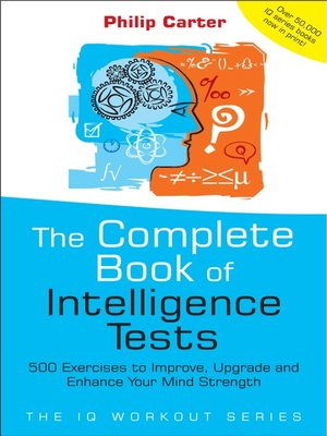 the complete book of intelligence tests by philip carter pdf
