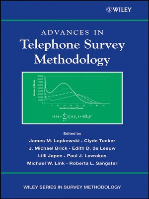 cover image of Advances in Telephone Survey Methodology