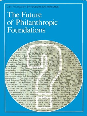 cover image of The Future of Philanthropic Foundations