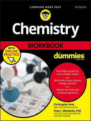 cover image of Chemistry Workbook For Dummies