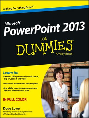 cover image of PowerPoint 2013 For Dummies
