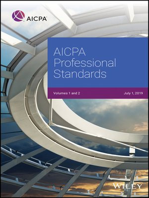 cover image of AICPA Professional Standards 2019, Volumes 1 and 2