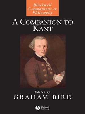 cover image of A Companion to Kant