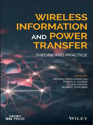 cover image of Wireless Information and Power Transfer
