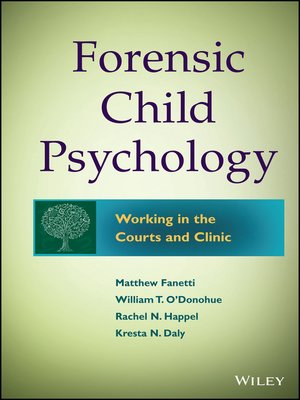 cover image of Forensic Child Psychology