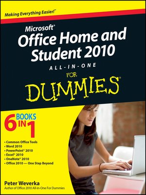 cover image of Office Home and Student 2010 All-in-One For Dummies
