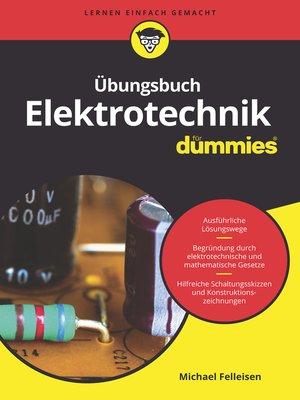 cover image of Übungsbuch Elektrotechnik für Dummies