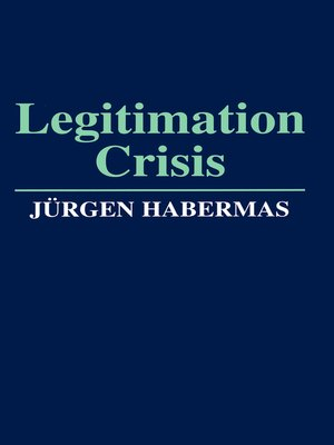 cover image of Legitimation Crisis
