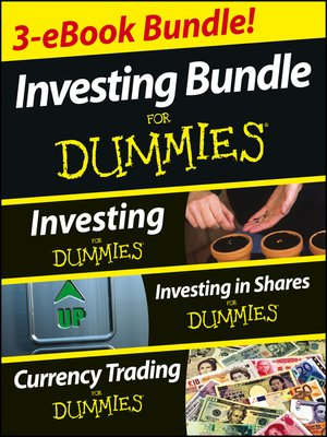 cover image of Investing For Dummies Three e-book Bundle