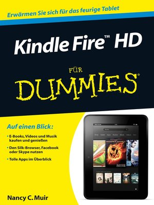 cover image of Kindle Fire HD für Dummies