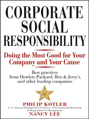 cover image of Corporate Social Responsibility