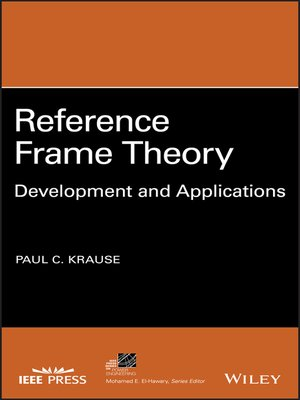 cover image of Reference Frame Theory