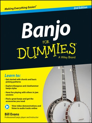 cover image of Banjo For Dummies