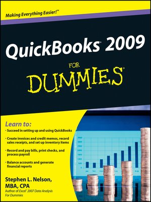 cover image of QuickBooks 2009 For Dummies®