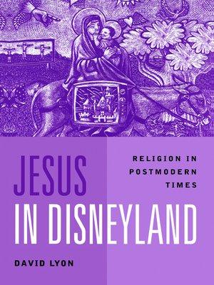 cover image of Jesus in Disneyland