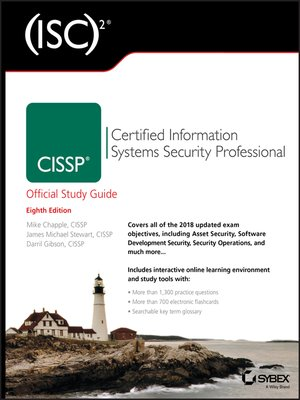 cover image of (ISC)2 CISSP Certified Information Systems Security Professional Official Study Guide