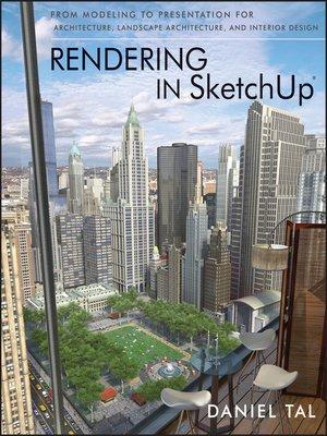 cover image of Rendering in SketchUp