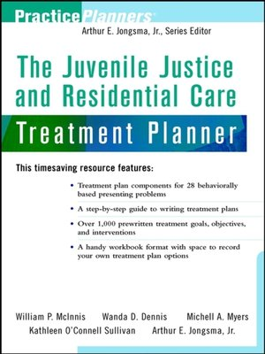 Practiceplannersseries overdrive rakuten overdrive ebooks cover image of the juvenile justice and residential care treatment planner fandeluxe Gallery