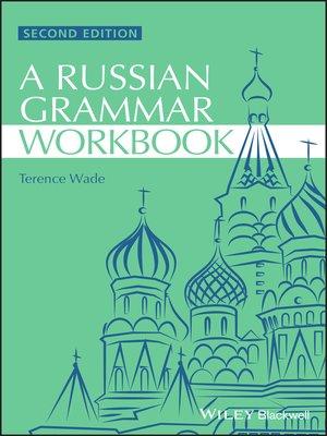 cover image of Russian Grammar Workbook