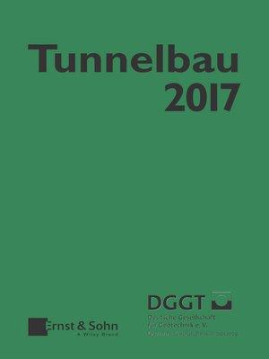cover image of Taschenbuch für den Tunnelbau 2017