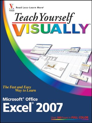 cover image of Teach Yourself VISUALLY Excel 2007