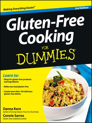 cover image of Gluten-Free Cooking For Dummies