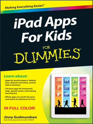 cover image of iPad Apps For Kids For Dummies