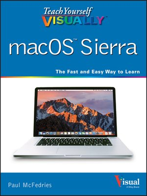 cover image of Teach Yourself VISUALLY macOS Sierra