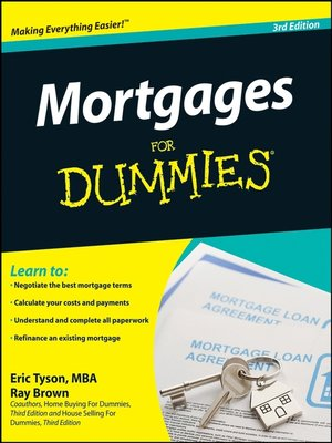 cover image of Mortgages For Dummies®