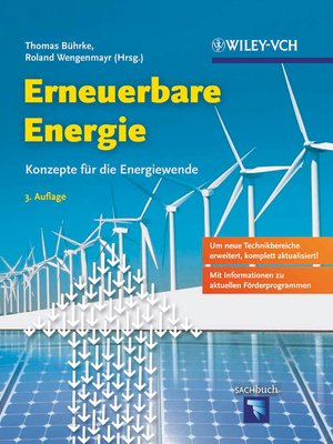 cover image of Erneuerbare Energie