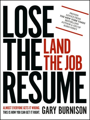 cover image of Lose the Resume, Land the Job