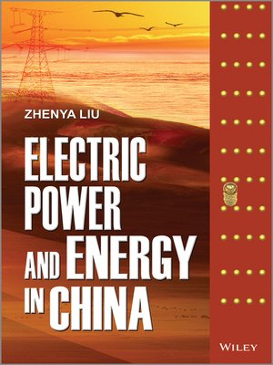 cover image of Electric Power and Energy in China