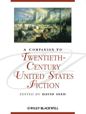 cover image of A Companion to Twentieth-Century United States Fiction