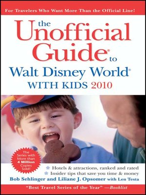 The Unofficial Guide to Walt Disney World with Kids 2015