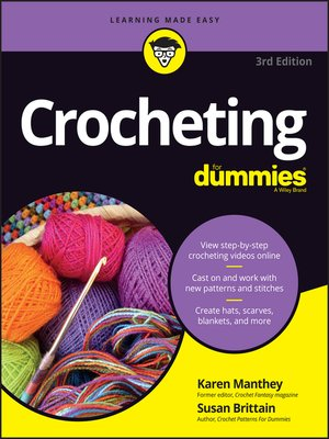 cover image of Crocheting For Dummies with Online Videos