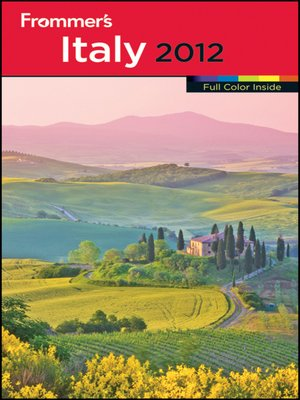 cover image of Frommer's Italy 2012