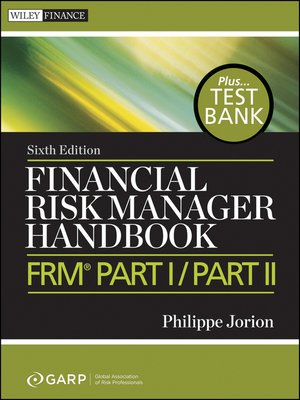 cover image of Financial Risk Manager Handbook + Test Bank