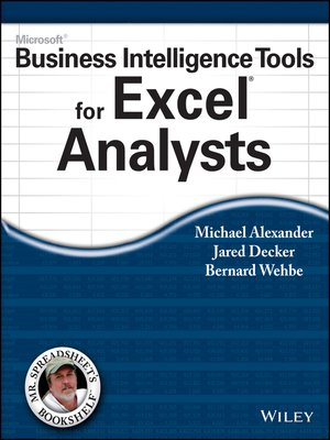 cover image of Microsoft Business Intelligence Tools for Excel Analysts