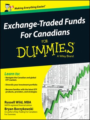 cover image of Exchange-Traded Funds For Canadians For Dummies