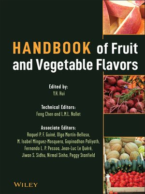 cover image of Handbook of Fruit and Vegetable Flavors